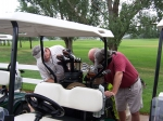 Dave Simpson at Golf Tournament